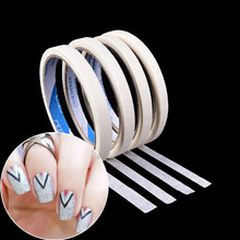 1 pçs prego striping fita linha diy água decalque da arte do prego adesivos design tiras adesivas para unhas estilo ferramenta manicure fita