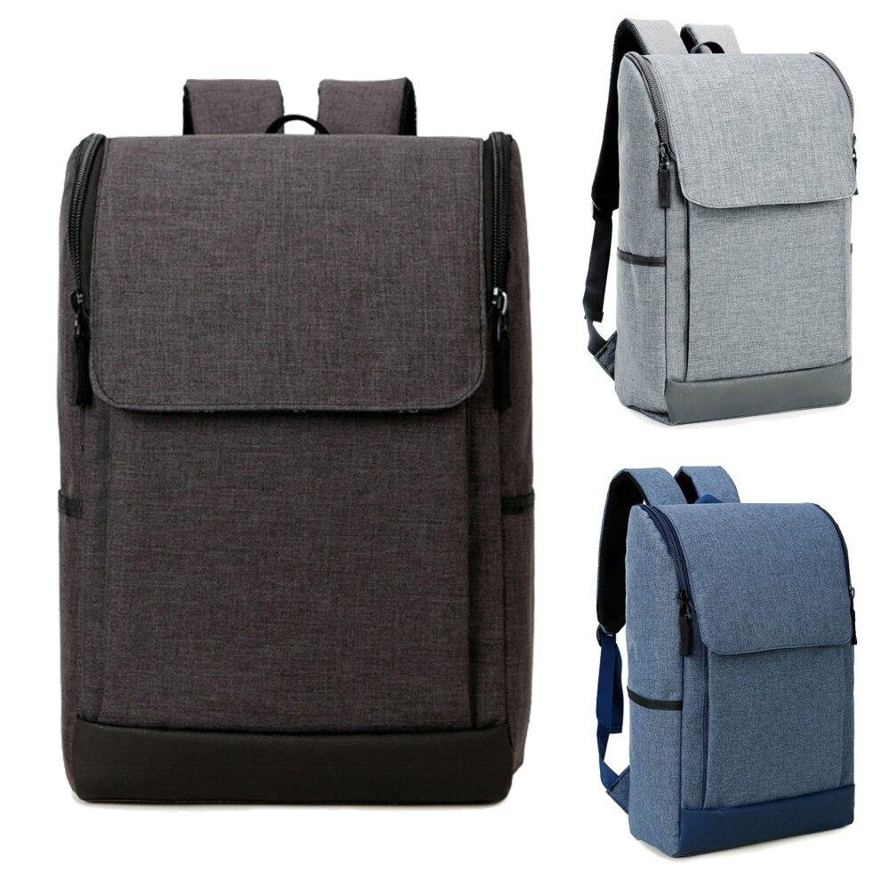 14 15.6 Inch Nylon Laptop Waterproof Notebook Backpack Bags Case School Backpack for Travel Shopping Climbing Men Women