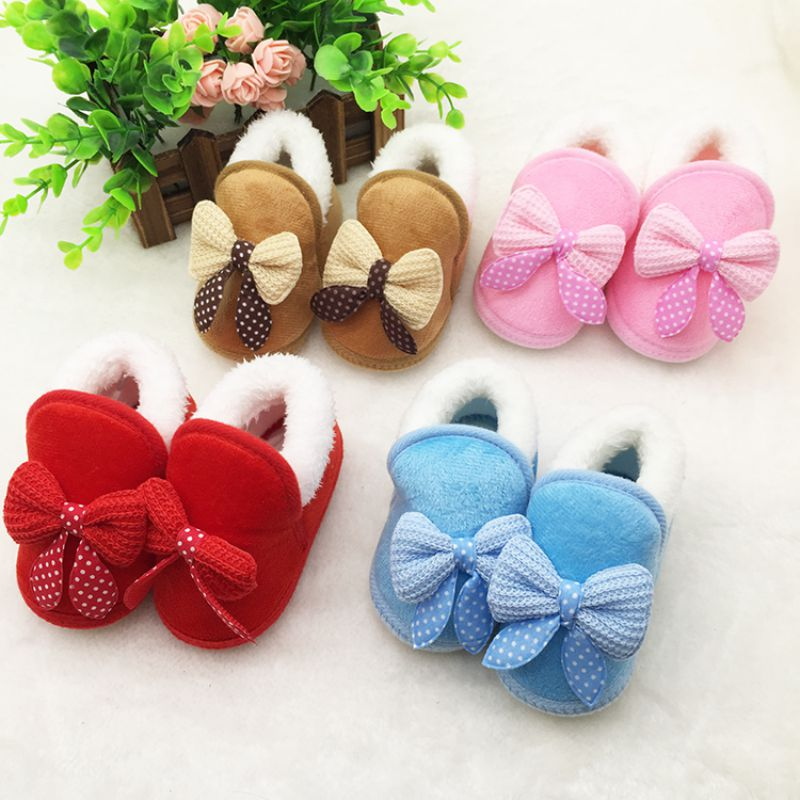 Newborn-Infant-Bebe-Toddler-Girls-Warm-Bow-Snow-Shoes-Baby-Walker-Crib-Boots-Baby-Shoes-5