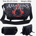 Cartoon Assassins Creed Unisex Messenger Bag Shoulder School Notebook Bookbag