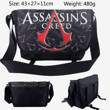 Bande dessinée Assassins Creed Unisexe Messenger Sac D'épaule Cahier D'école Bookbag