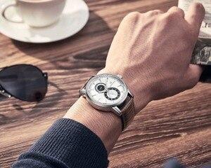 Image 5 - 2018 New Men Watch NAVIFORCE Top Brand Luxury Mens Quartz Date Clock Male Leather Business Sport Watches Relogio Masculino