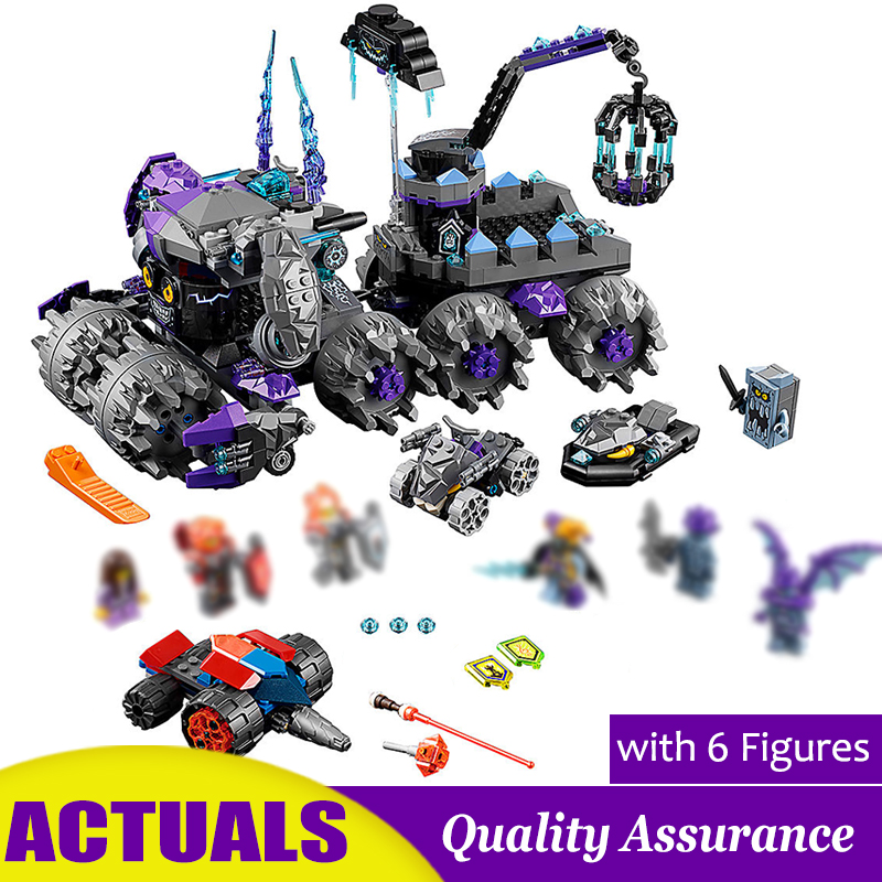Jestro s Headquarters 70352 Compatible 10597 Building Blocks Chariots Base Model Bricks Kids DIY Toys