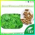 Alta Calidad Extracto de Ajenjo Dulce Hierba/Planta Artemisia Annua Extracto de la Cápsula de 500 mg * 100 unids