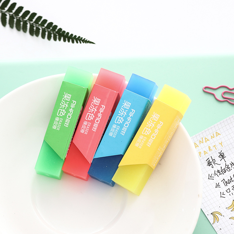 Easy Candy Color Eraser Rubber Eraser Primary Student Prizes Promotional Gift Stationery