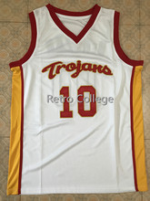 f5f0a55e4  10 Demar DeRozan USC Trojans college throwback men basketball jerseys  Embroidery Stitched any number and