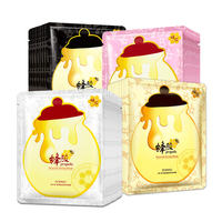 HanChan Nourish Honey Facial Mask Moisturizing Face Mask Oil Control Ance Treatment Hydrating Wrapped Mask Skin Care Face Mask & Treatments