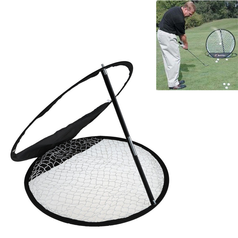 1PCS Quality Portable Folding Golf Exercise Net Golf Practice Trainning Net Hitting Cage Indoor Outdoor Chipping Practice Net