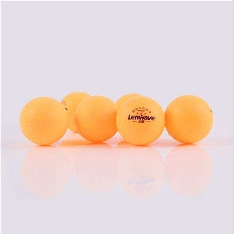 3-Star 150pcs/bag Table tennis balls Ploy ping pong balls 40 mm new material high quality white and orange ping pong balls
