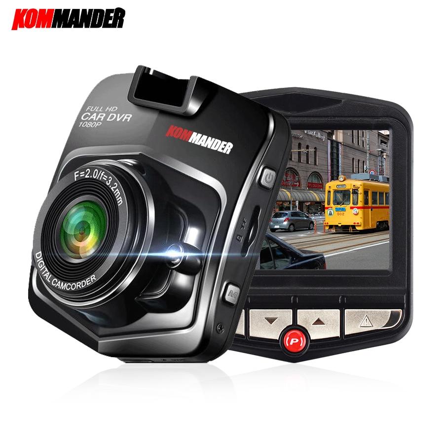 Kommander C1 Мини Автомобильный видеорегистратор камеры рекордеры Full HD 1080 P черный ящик автомобиль тире камеры видеомагнитофоны рекордер ночь видения