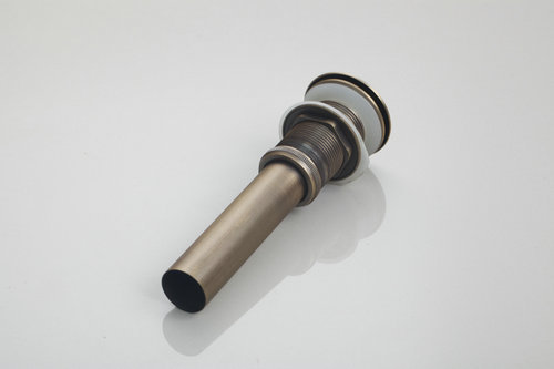 Best Drain Escorra Retro Antique Brass Push Down Pop Up Drain No Overflow 5712 Floor Drain Bathroom Basin Sink Bath Drains