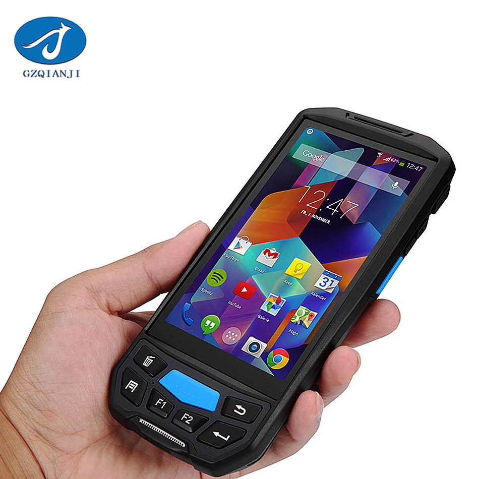 Barcode Scanner Handheld Terminal PDA WarehouseIndustrial Rugged touch screen OEM image Handheld 1D 2D barcode scanner pda