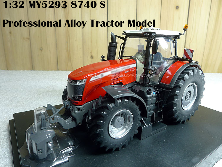 rare  Boutique  1:32 MY5293 8740 S  Professional Alloy Tractor Model  Collection modelrare  Boutique  1:32 MY5293 8740 S  Professional Alloy Tractor Model  Collection model