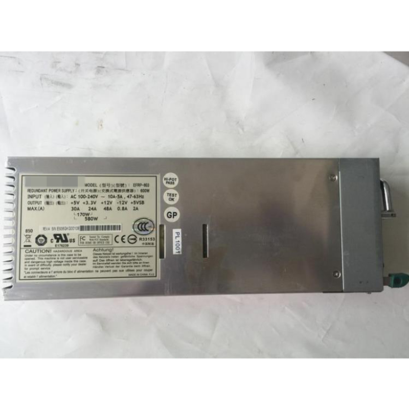 ETASIS EFRP-603 REDUNDANT POWER SUPPLY PSU