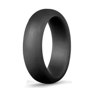 Image 4 - 1PC 5.7MM Silicone Ring Solid Black Red Blue Couples Rubber Food Grade Antibacterial Hypoallergenic FDA Sport Finger Rings Gift