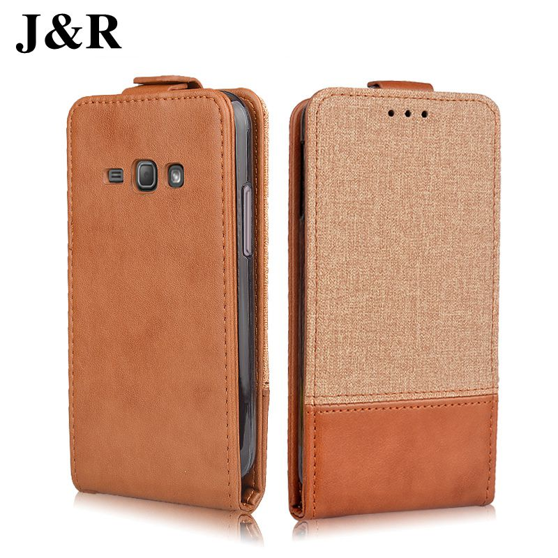 For Samsung Galaxy J1 2016 Flip Leather Case Cover For Samsung Galaxy J1 2016 J120 J120F SM-J120F/DS 4.5 Inch Phone Cases