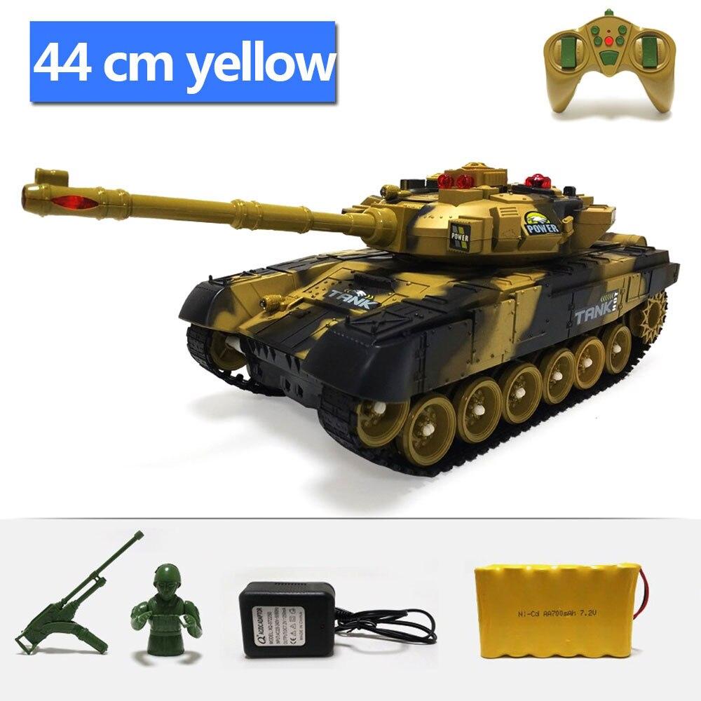 Крутая реалистичная модель танка с дистанционным управлением, многоцветная модель на открытом воздухе, развивающая интерес, модель танка автомобиля