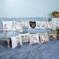 ゴールデンパイナップル & 愛のクッション装飾枕 Brozing ゴールド枕家の装飾ソファスロー枕 45*45 センチメートル Almofada luxo