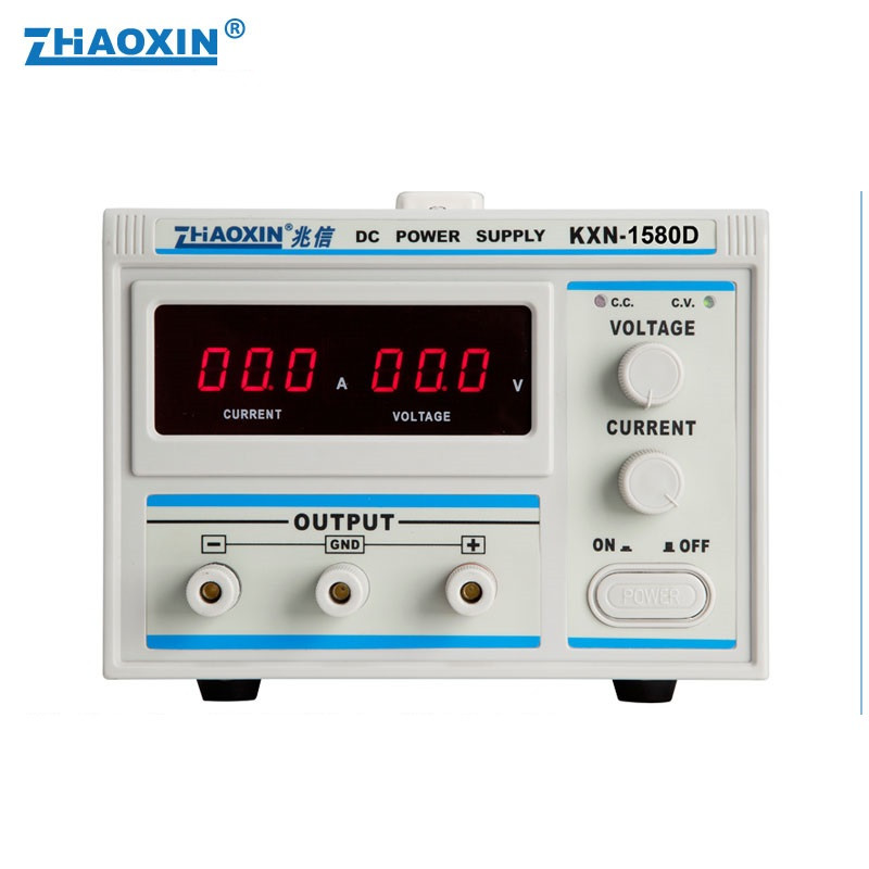 High Power DC Power Supply KXN-1580D 15V/80A Adjustable DC Aging Plating Constant Current Power Supply 0.1V 0.1A cps 6011 60v 11a digital adjustable dc power supply laboratory power supply cps6011