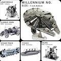 Criativo de metal 3D quebra-cabeças quebra-cabeças DIY modelo 3D adulto / crianças brinquedos de presente carro de esportes Starship Titanic Mars Rover Etc