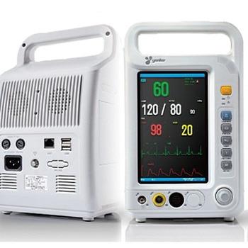 Medical Equipment Health Care Multi Parameter ICU Patient Monitor Pulse Rate Blood Pressure Temperature Oximeter YK8000A