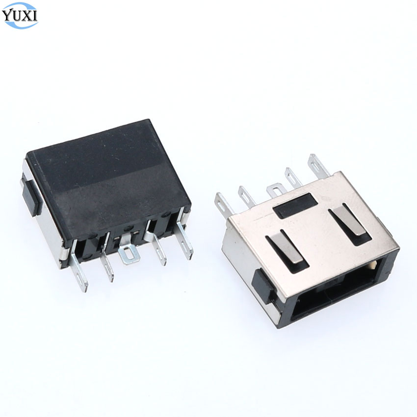 In Discreet Yuxi 2pcs Dc Power Jack Connector For Lenovo B40 B50 E40 G40 G50 G70 Z40 Z41 Z50 Z51 Y50 Y70 N50 Z510 Z710 T440 Fashionable Style;