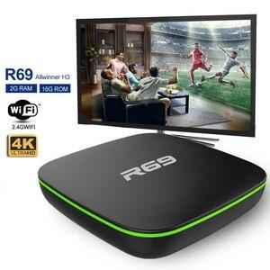 R69 Smart TV Box Android 7.1 1GB 8GB IPT
