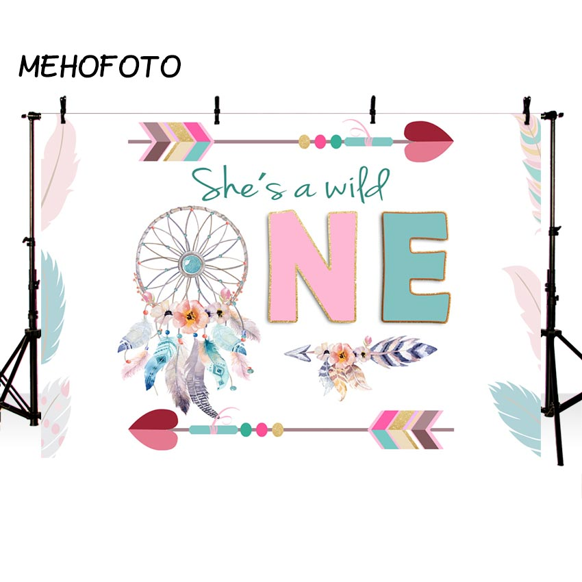 Camera & Photo Photo Studio Mehofoto Wild One Party Backdrops Bohemia Birthday Boho Decorations Photography Background Photobooth Forp Photo Studio Quality And Quantity Assured