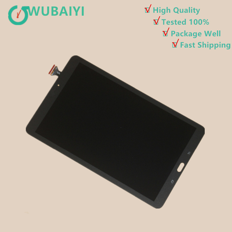 T560 LCD For Samsung Galaxy Tab E 9.6 SM-T560 T560 SM-T561 LCD Display Touch Screen Digitizer Matrix Panel Tablet Assembly srjtek 9 6 for samsung galaxy tab e 9 6 sm t560 t560 t561 lcd display touch screen digitizer matrix tablet pc assembly parts