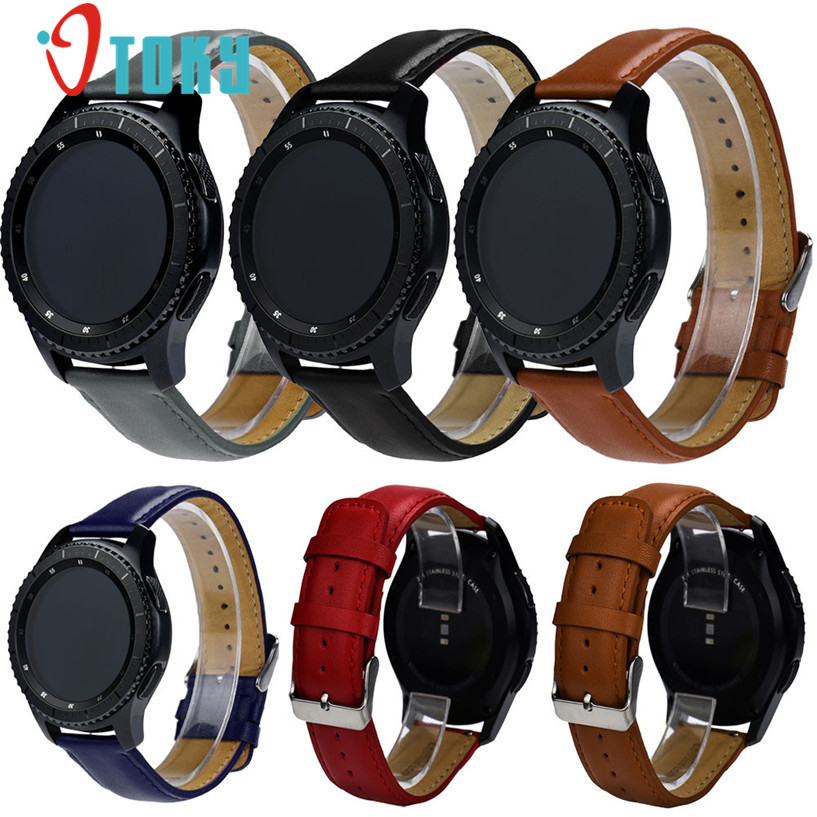 2017 Fashion Low Price 2017 Hot Sale OTOKY  Replacement Leather Watch Bracelet Strap Band For Samsung Gear S3 Classic wholesale kimisohand 2016 new fashion design genuine leather loop type watch band strap for samsung gear s2 classic sm r732 hot sale