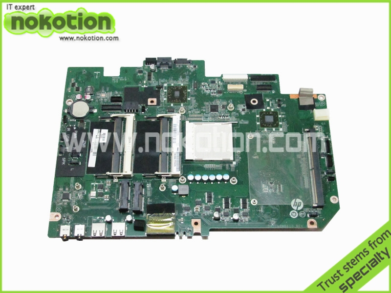 NOKOTION Laptop Motherboard for HP TouchSmart 610 648511-001 DA0ZN8MB6I0 REV I <font><b>Radeon</b></font> <font><b>HD</b></font> <font><b>5450</b></font> DDR3 Logic Board free shipping image