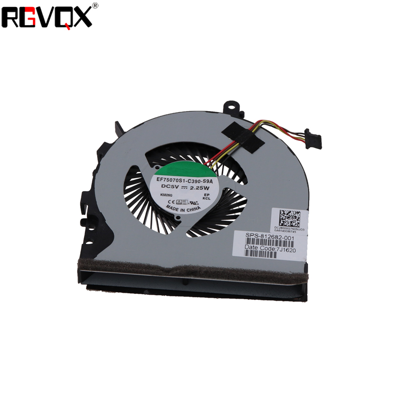 New Laptop Cooling Fan for HP ENVY 15 6 quot M6 P M6 P113DX 15 AE P N DC28000G7F0 812682 001 DFS541105FC0T CPU Cooler Radiator in Fans amp Cooling from Computer amp Office