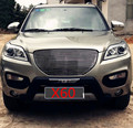 High quality stainless steel Front Grille Around Trim Racing Grills Trim For 2011-2013 LIFAN X60