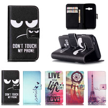 Leather Case Cover for Samsung GALAXY Ace 4 Lite G313 G313H Ace4 Neo G318H SM-G318H