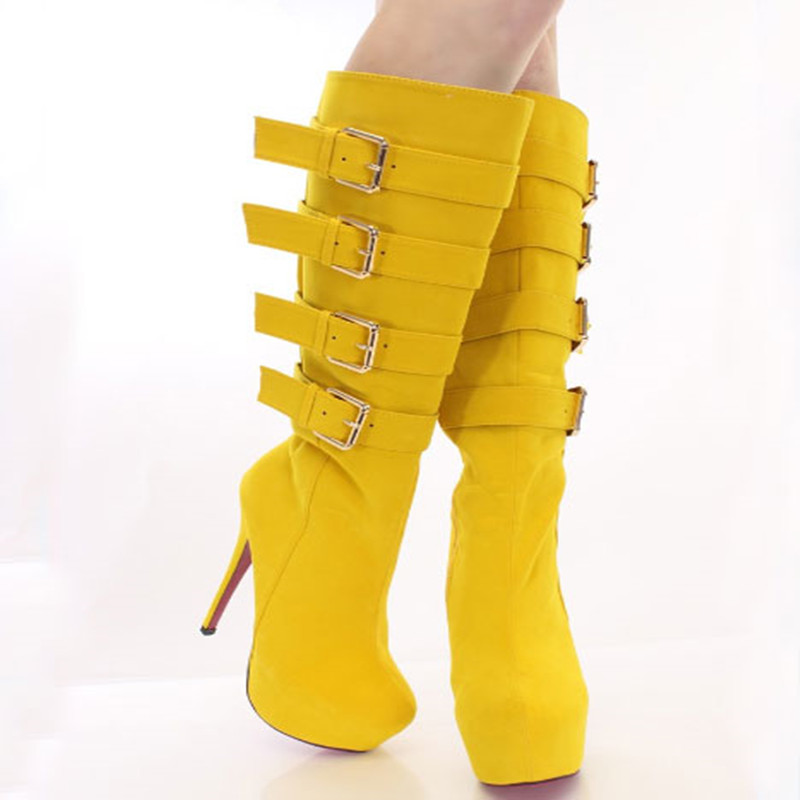 Beautiful and stylish free shipping, a variety of suede, zipper, 14.5 cm high heel boots, knee-high boots. SIZE:34-45 environmentally friendly pvc inflatable shell water floating row of a variety of swimming pearl shell swimming ring