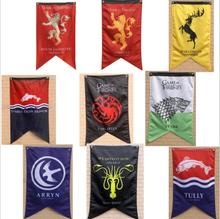 costume props Game Of Thrones Banner Flag Winter is coming Fire blood Stark Targaryen Lannister  Home Decor