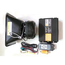 Comercio al por mayor coche as920 sirena de alarma bocina de la alarma del coche de alarma 200 w altavoces inalámbricos lámpara de flash