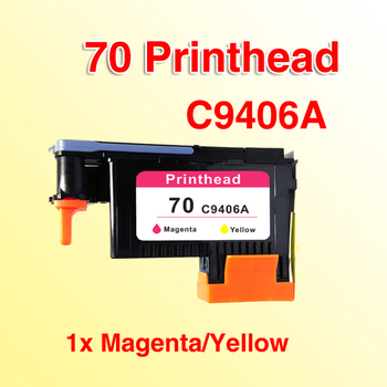 1x compatible for 70 C9406A Magenta/Yellow Printhead compatible for hp70 Z3100 Z5200 image