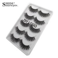 3d mink lashes DIY LOGO packaging wholesale supplier private label make up natural mink false eyelashes custom label