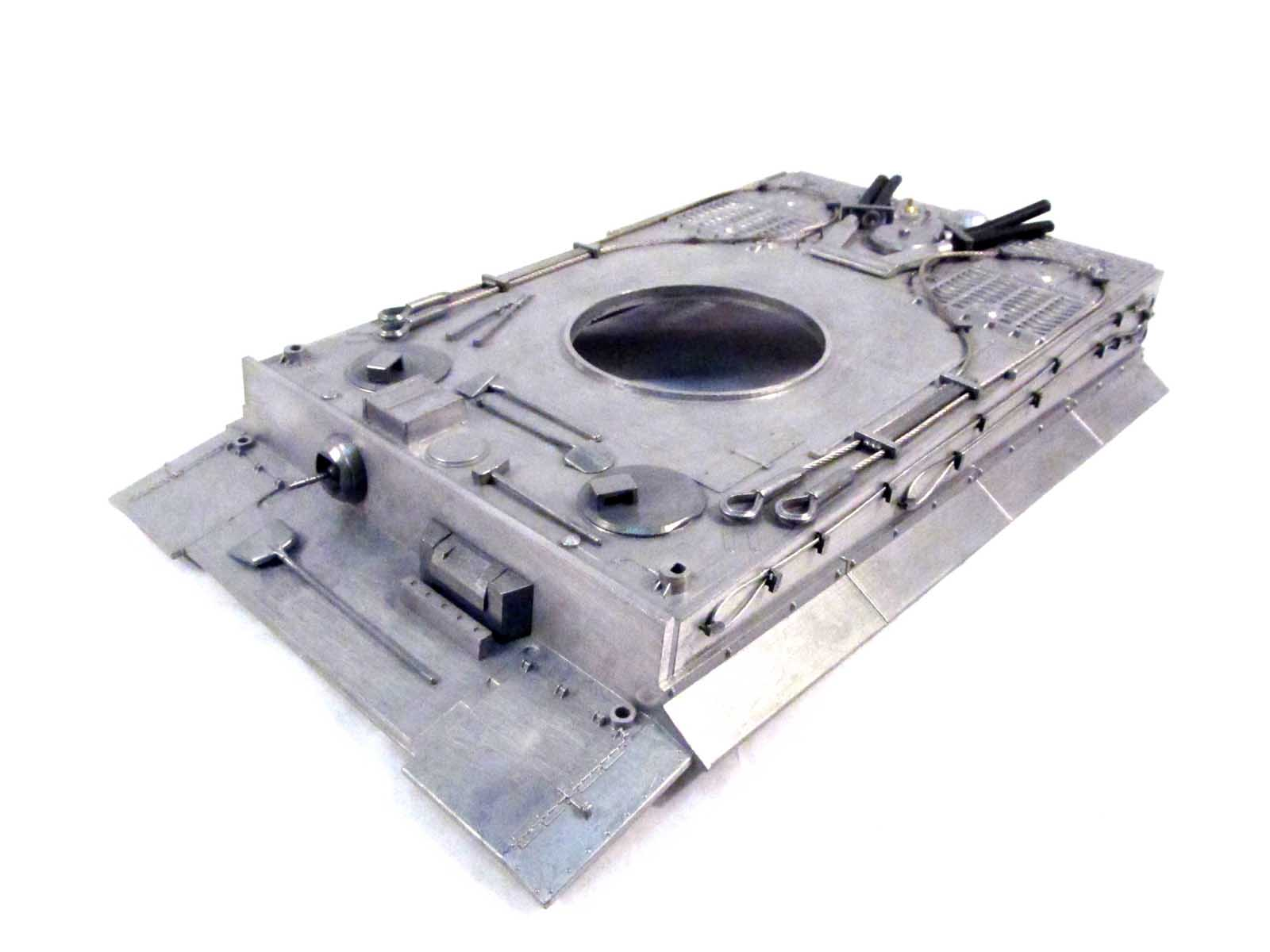 Mato 1/16 Tiger I RC Tank Metal Upper Hull MT079 mato metal driver