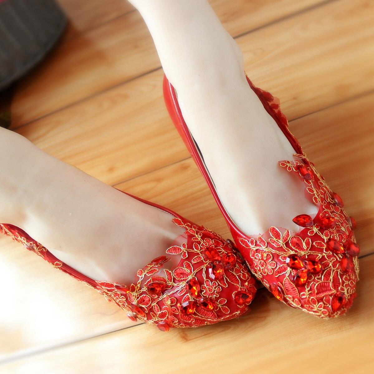 Chinese Wedding Shoes size 5