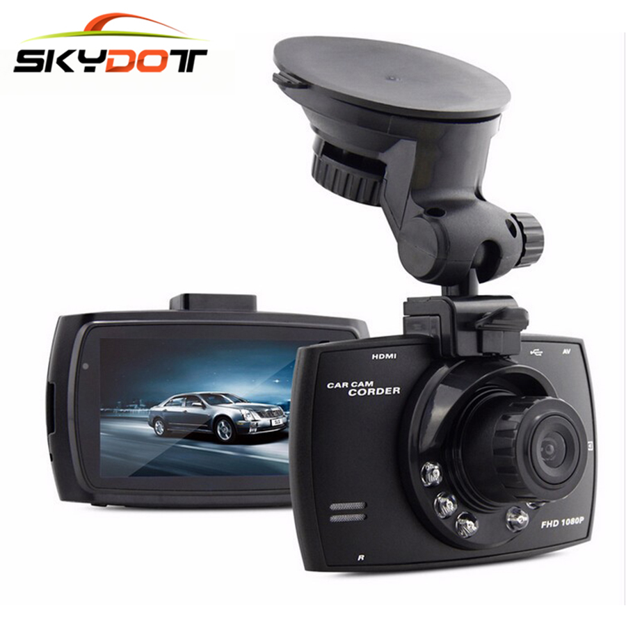 SkydotมินิรถDVR 2เลนส์กล้องDualประบ2.7