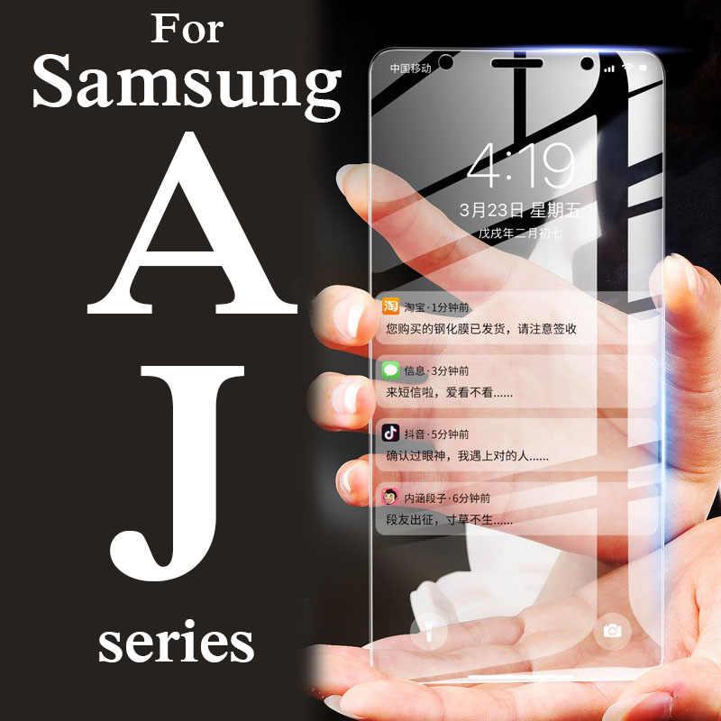 保護ガラスのために samsung galaxy j6 2018 スクリーンプロテクター a5 a6 a7 a8 j2 j4 j5 J8 プラスプライム 2017 三星電子 glas tempere