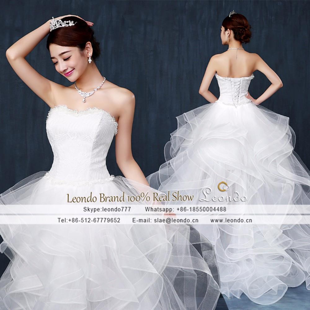 Leondo Wedding Dress Vestido De Casamento Plus Size Sweetehart