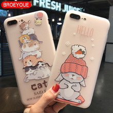 BROEYOUE Case For Samsung J5 J7 2017 6 A3 A5 A7 2017 J2 Prime J5 Prime J7 Prime S7 S8 Edge Relief TPU Flowers Animal Phone Cover