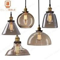 Vintage Retro Glass Pendant Lamps Light Nordic Hanglamp Home Decor Kitchen Pendant Led Lights Home Decor Planetarium Lamp