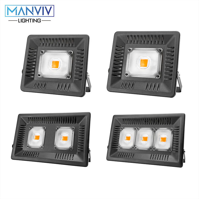 LED Flood Light 30W 50W 100W 150W 220V 110V Outdoor Wall Reflector LED Spotlight Led Search Lamp Garden Square Projector Lamp