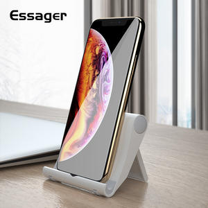 Essager Desk Phone Holder For iPhone X XS Max Samsung Tablet Adjustable Stand For Phone Support Cell Mobile Phone Holder Stnad