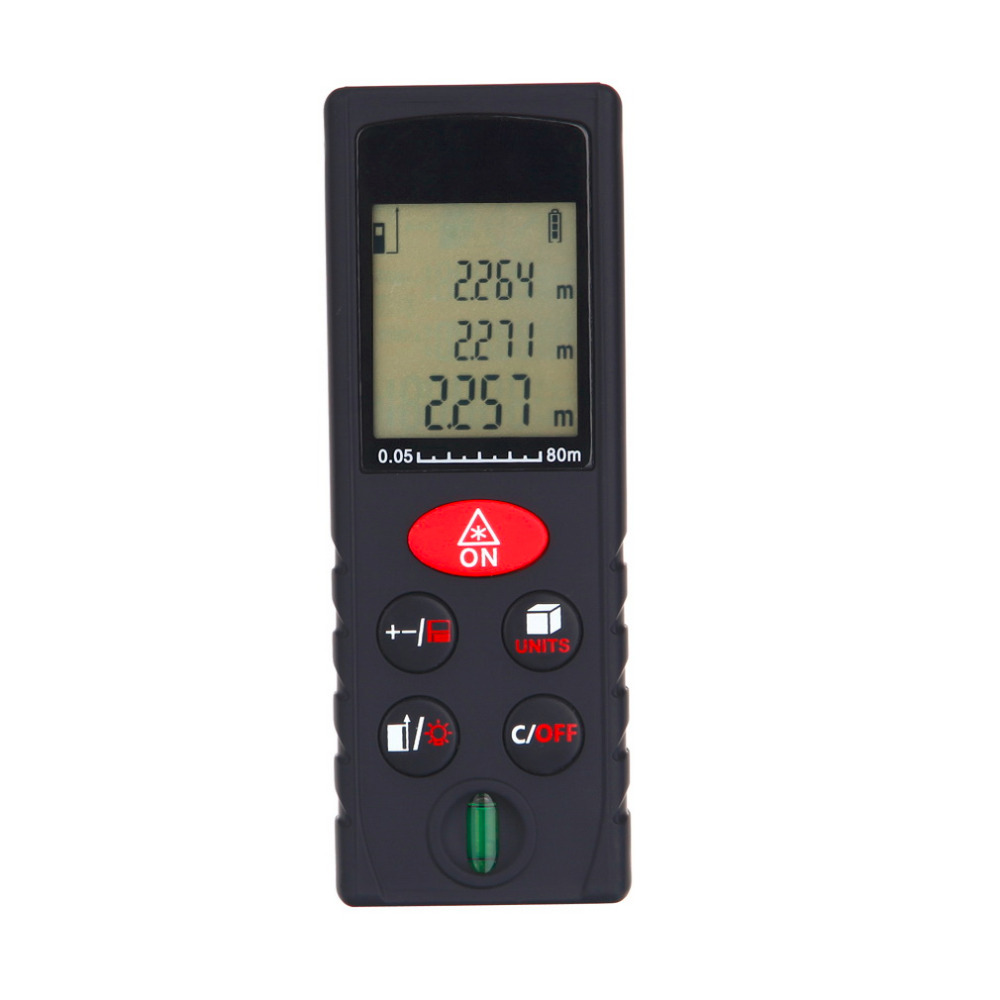 ФОТО Stylish 80m Digital Laser Distance Meter Range Finder Measure Diastimeter Worldwide Store