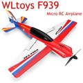 Atualizado WLtoys F939 2.4G 4CH 6 Eixo RC Modelo de Avião Avião RTF Modo Acelerador de Mão Esquerda